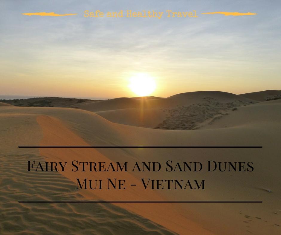The Fairy Stream And Sand Dunes At Mui Ne, Vietnam