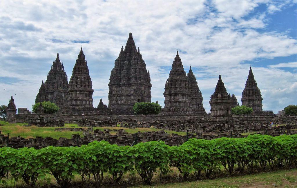 The Borobudur on Java, Indonesia
