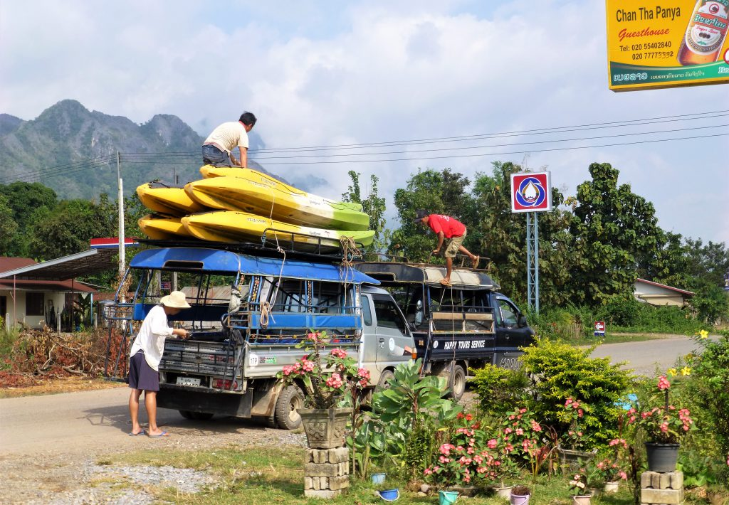 Tuben in Vang Vieng? Laos