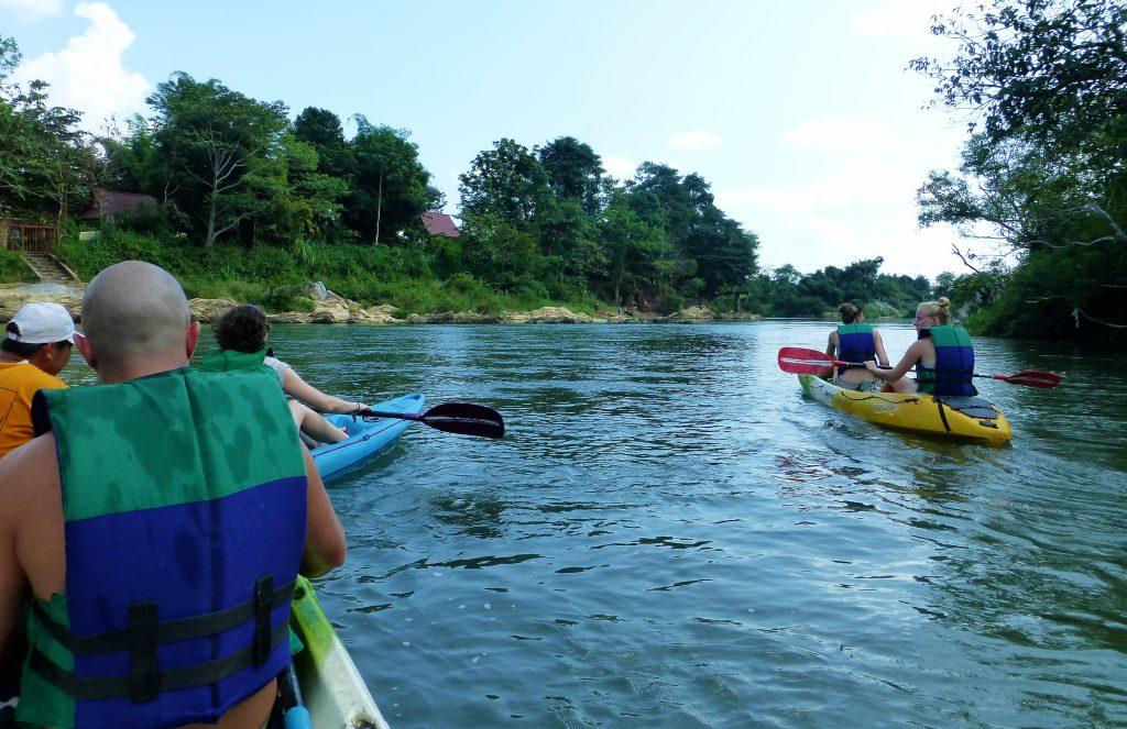 Tuben in Vang Vieng - Laos