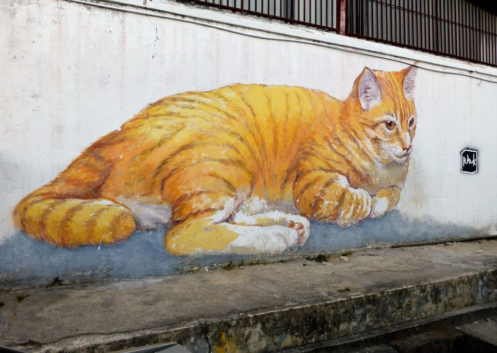 Georgetown and its great mural art, Pulau Penang - Malaysia