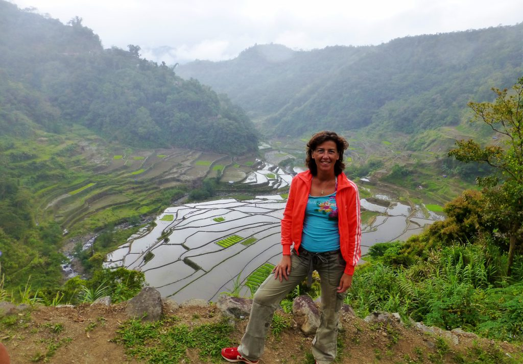 Ancient Old Rice Terraces of Banaue, The Phillipines