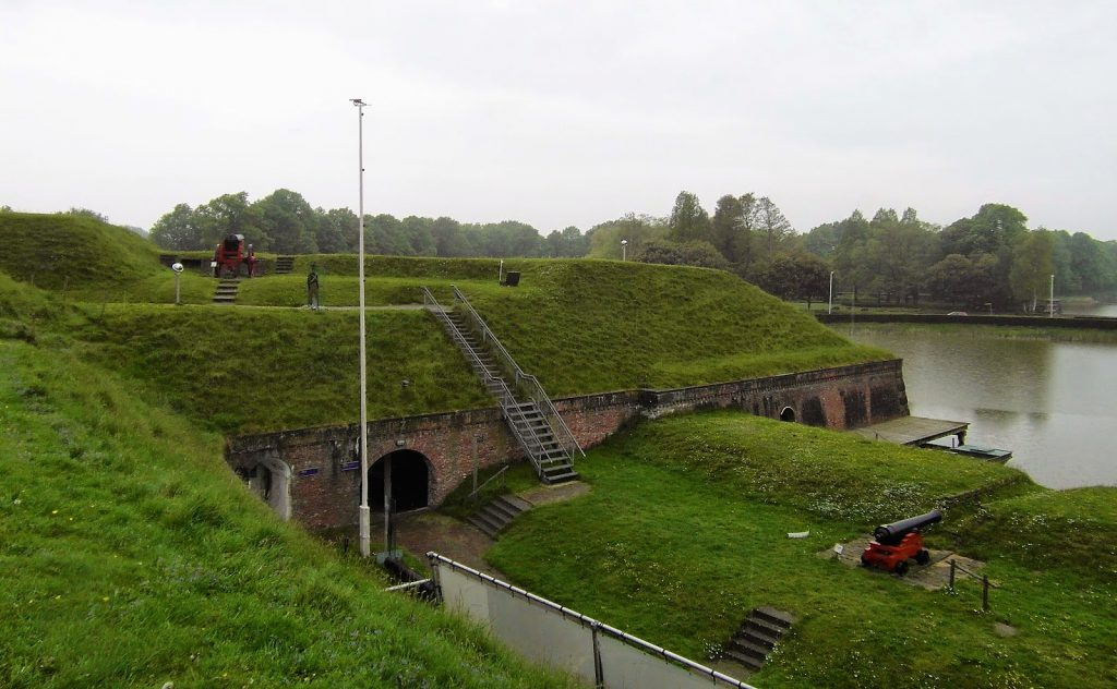 The Star Shaped Fort of Naarden Vesting, The Netherlands