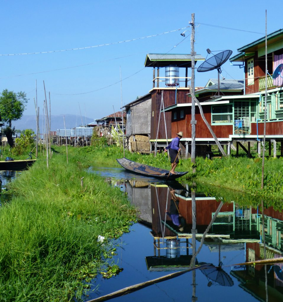 The Famous Legrowers of Inle Lake, Myanmar