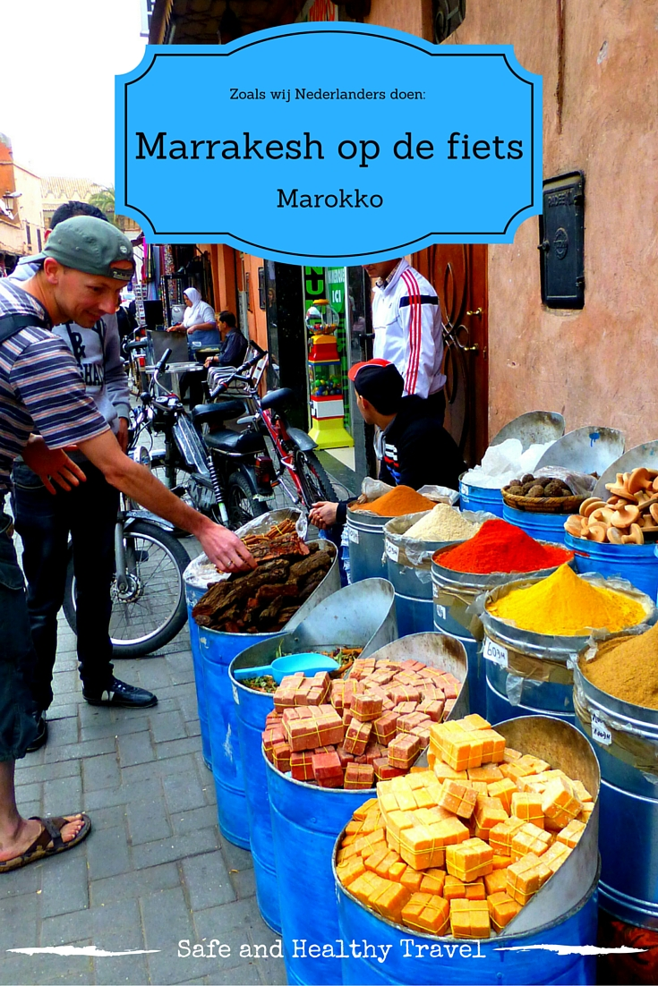 Fietsen in Marrakesh