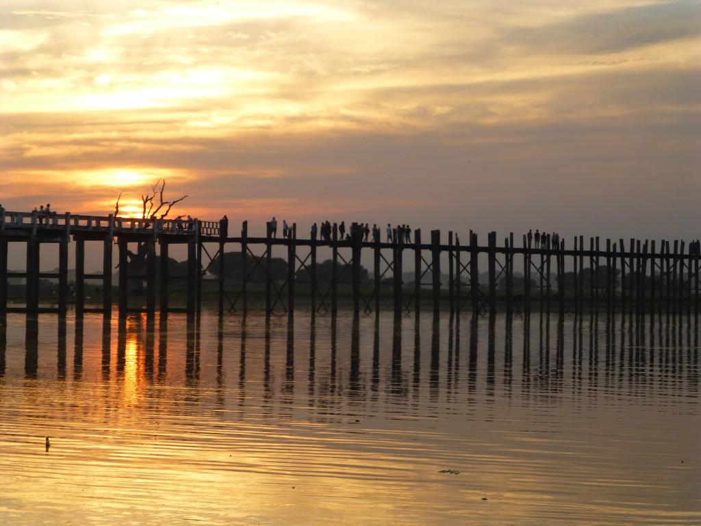 The Famous U Bein Brigde Myanmar