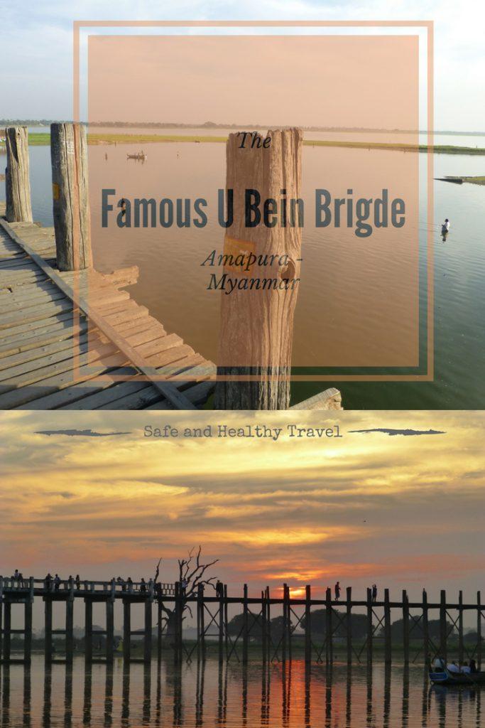 The Famous U Bein Brigde - Amapura, Myanmar