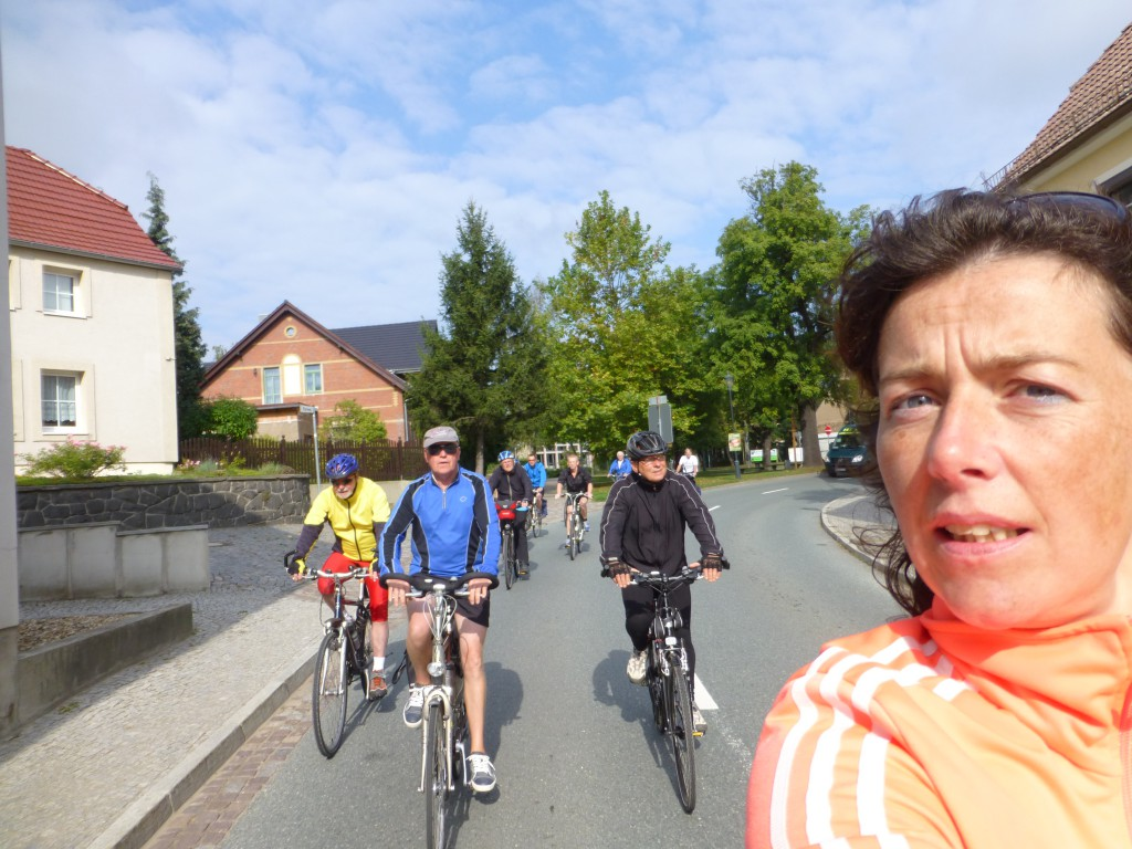 Cycling in East Germany - Dahlen