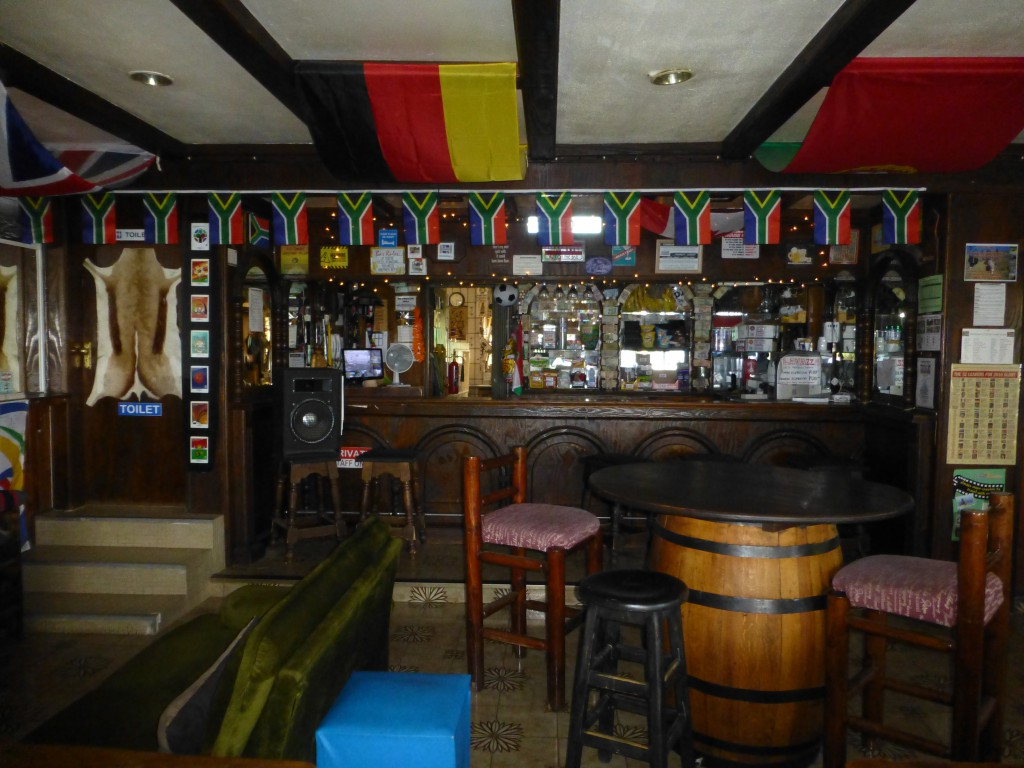 Bar at Brown Sugar Backpackers Lodge