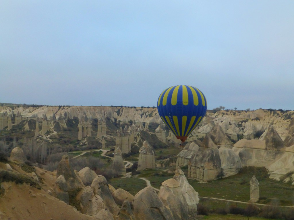 Ballooning over the great Cappadocia