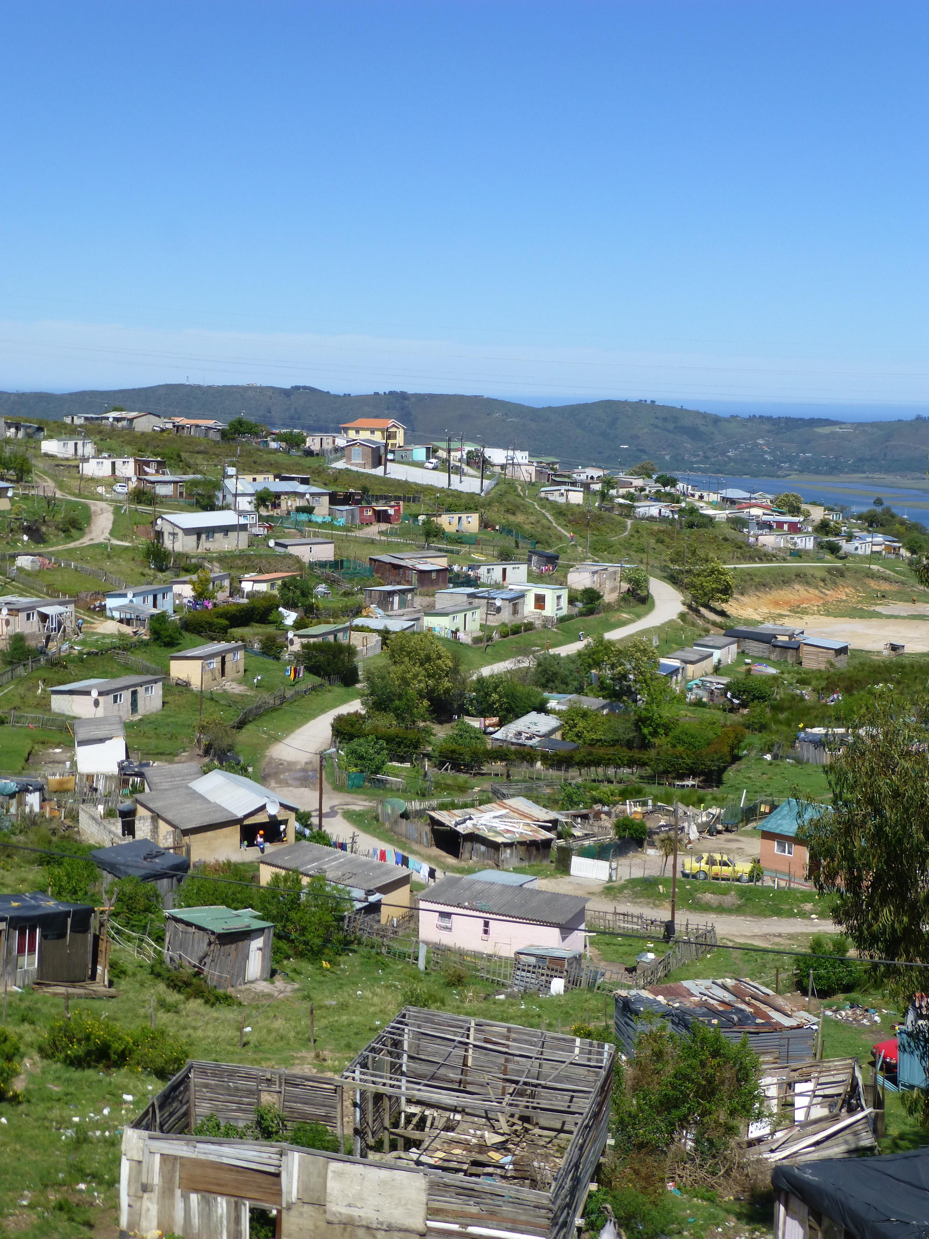 Zuid Afrika Knysna Township