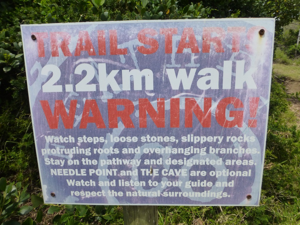Hiken in NP Featherbed in Knysna Heads - Zuid Afrika