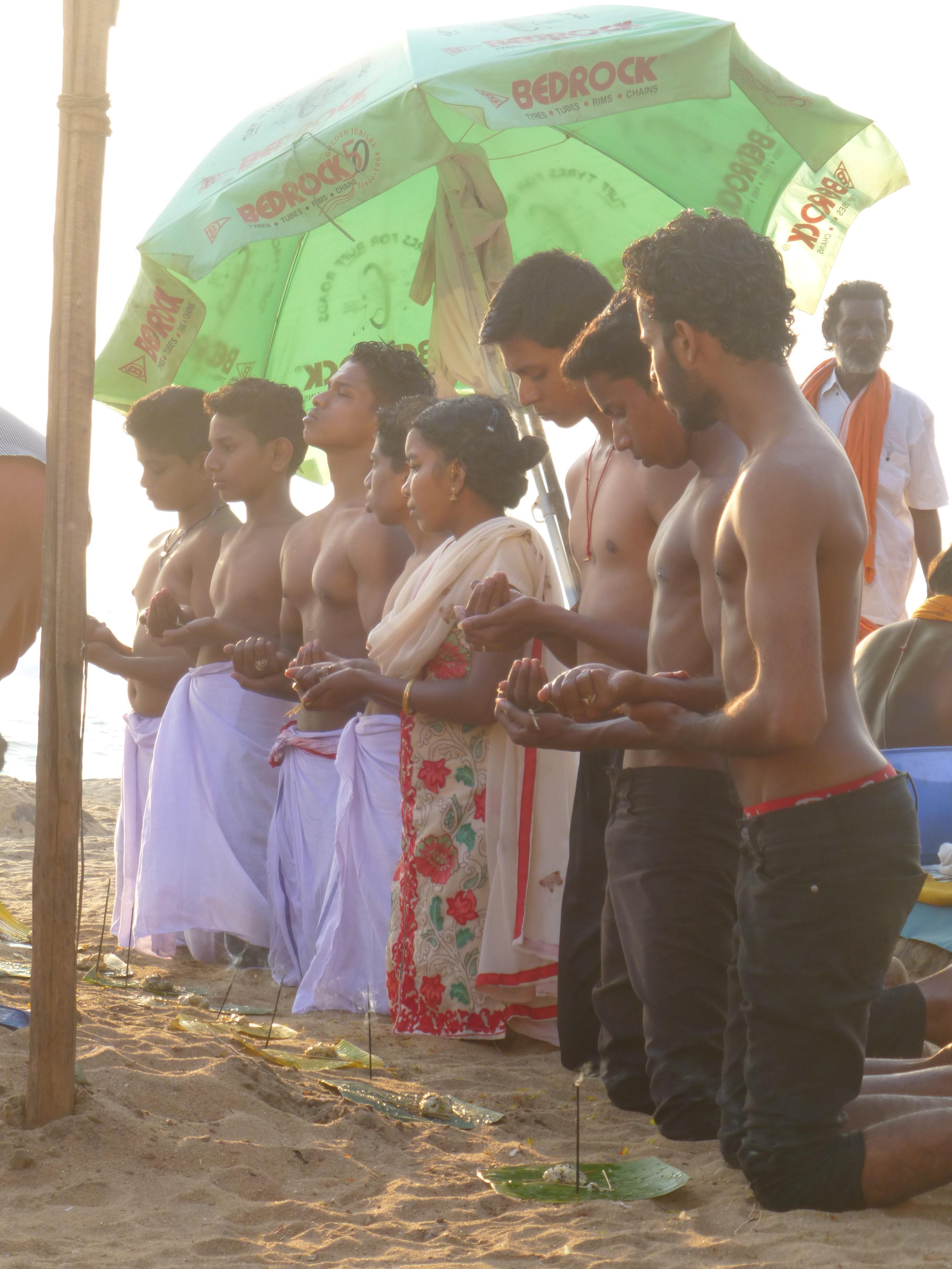 Puja, hele familie