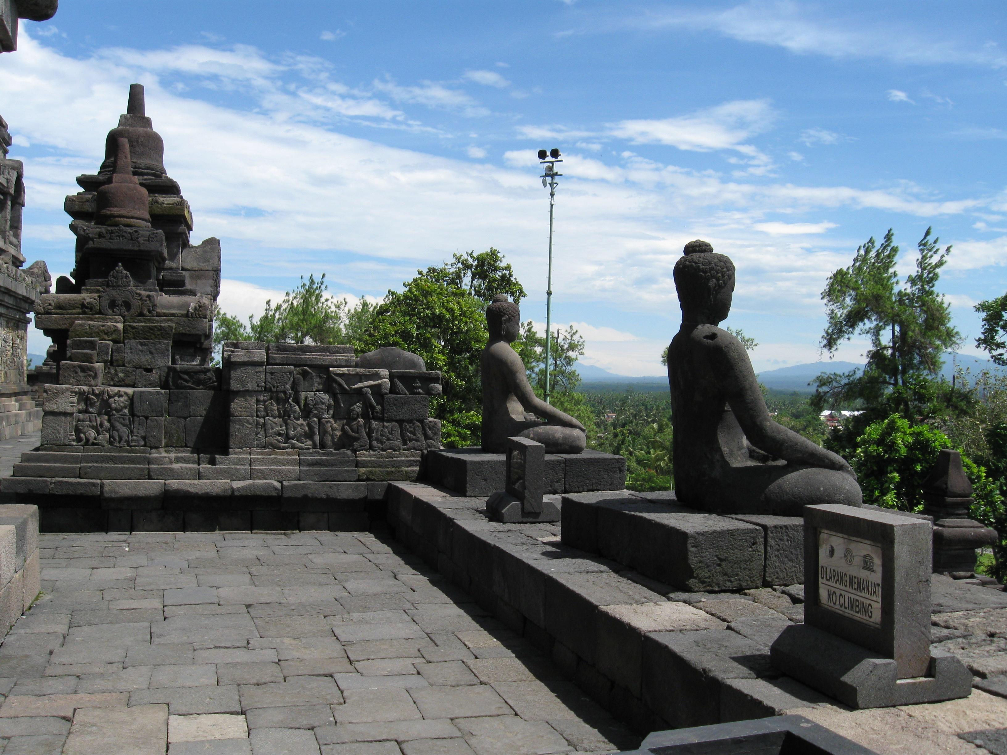 Borobudur, Java