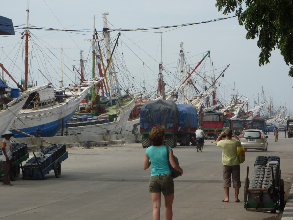 Batavia Harbour, Java