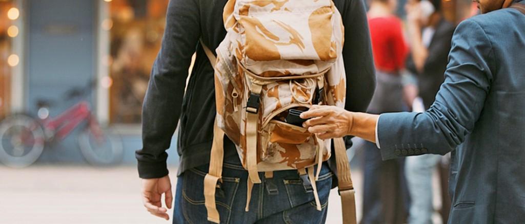 5 Tips om je te Beschermen tegen Zakkenrollers