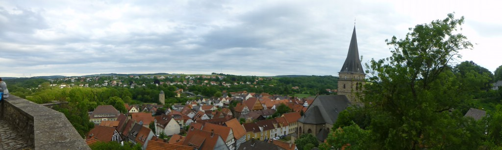 Panorama view Warburg