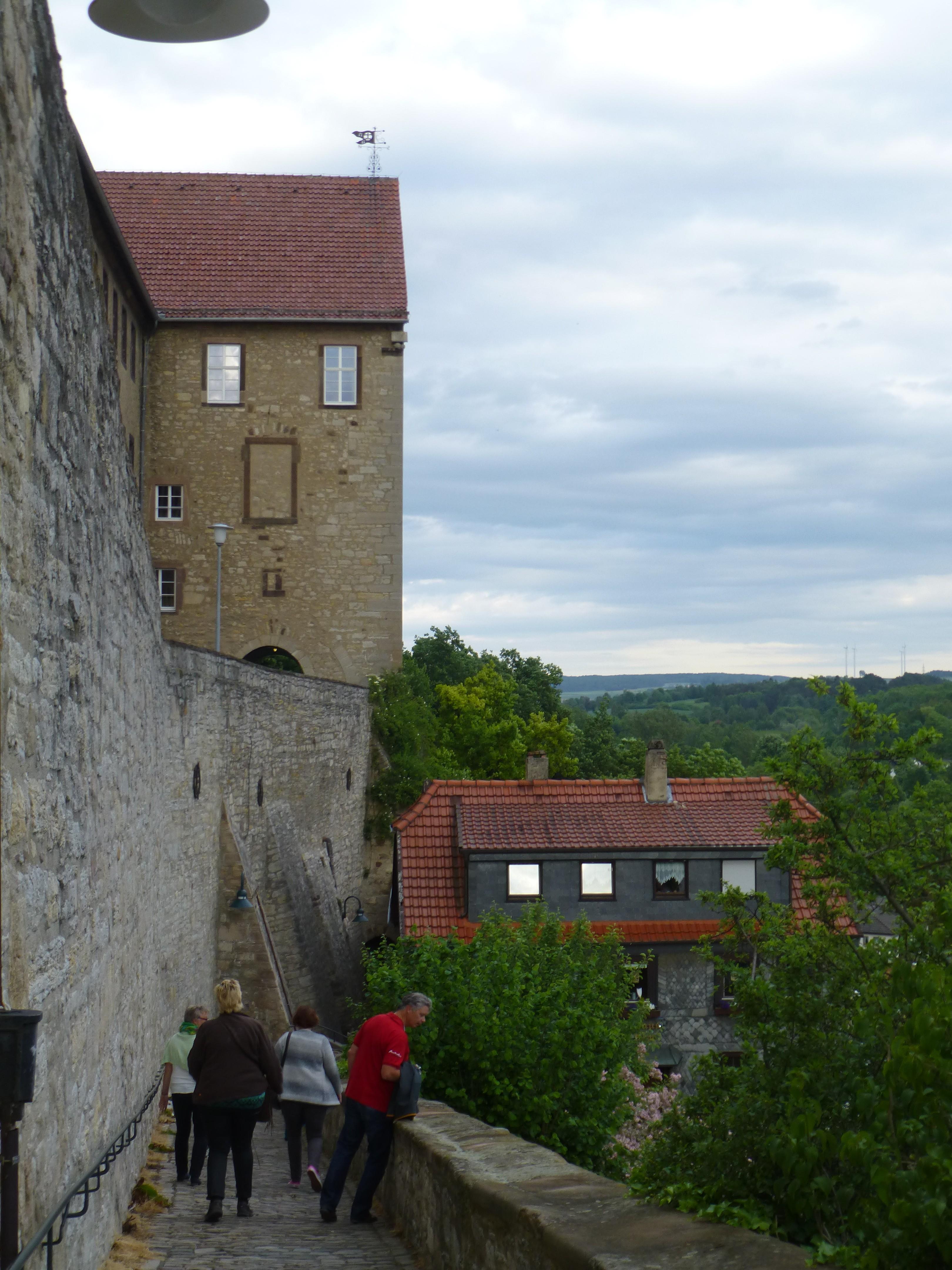 Wandelen door Warburg