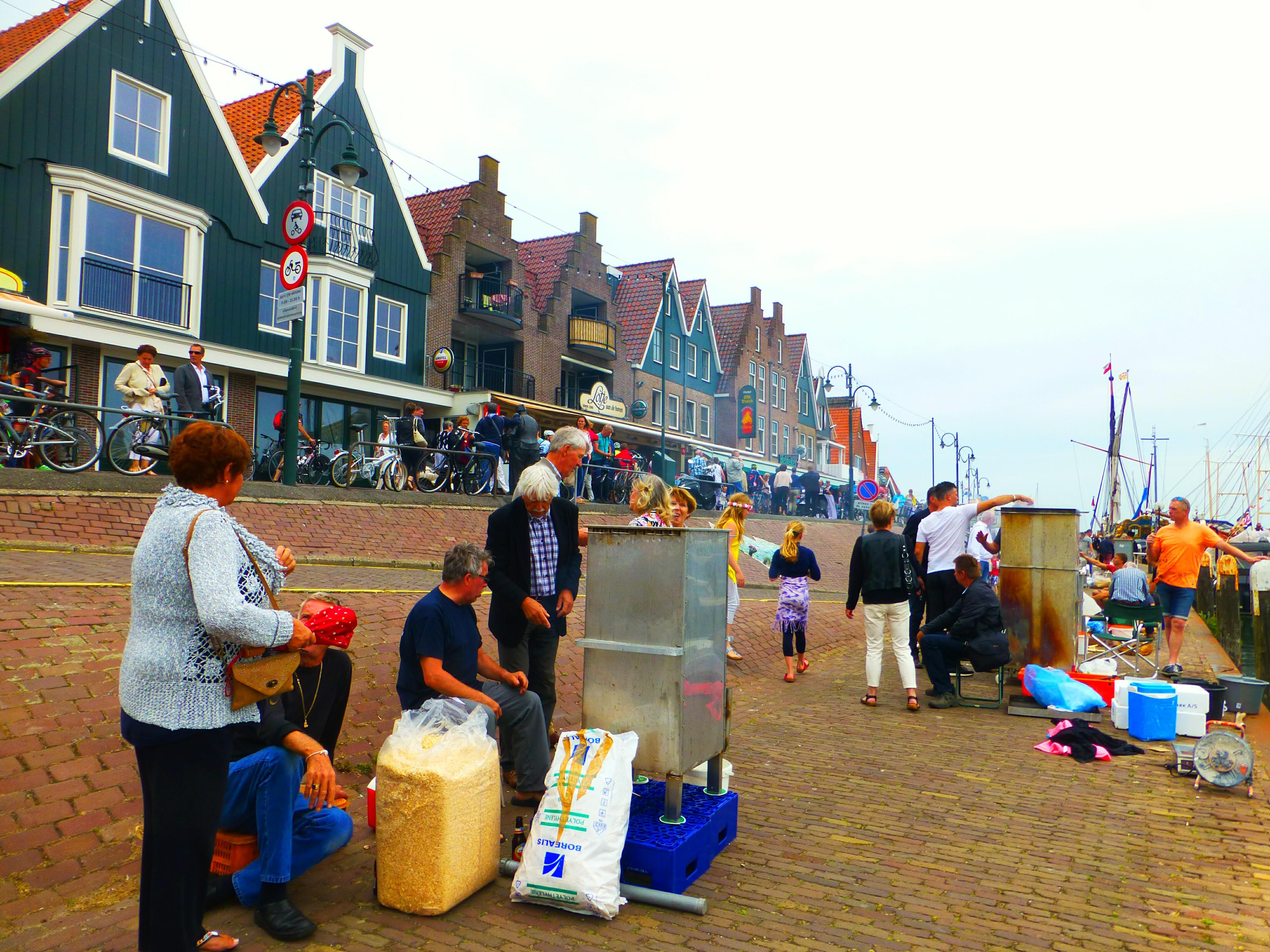 Volendam harbour Volendam Netherlands