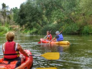 Kayakking Colomer