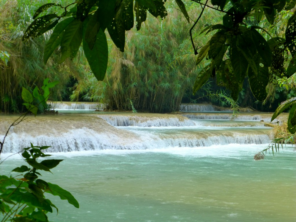 Kuang Si Waterfall - Safe and Healthy Travel