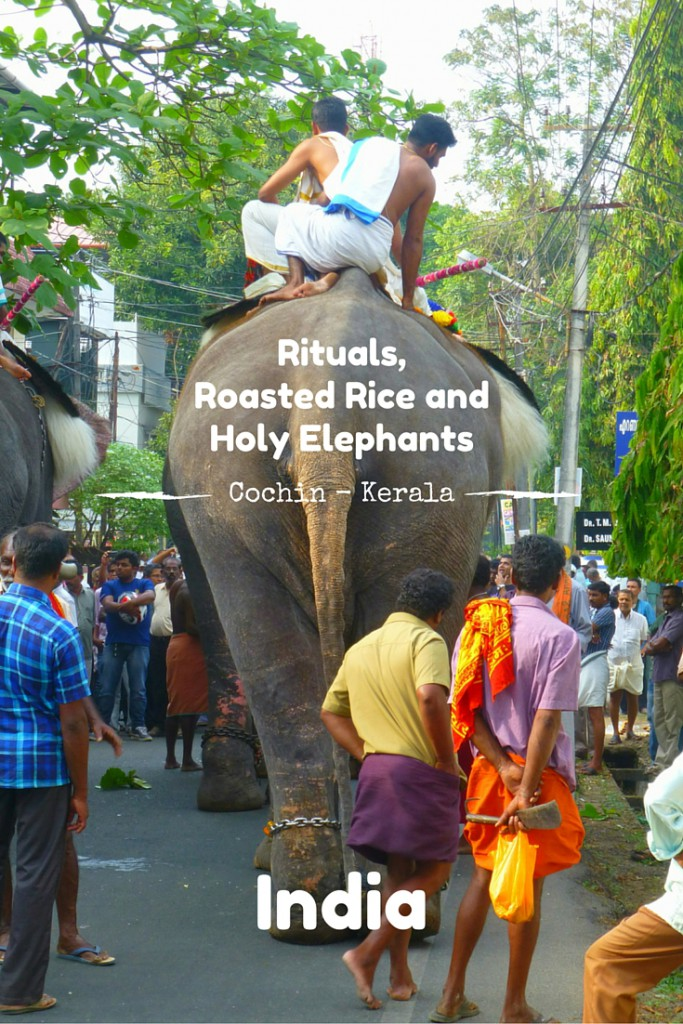 Rituals,Roasted Rice and Holy Elephants