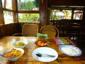 My dinner at Juwita's Cafe - Cooking Class