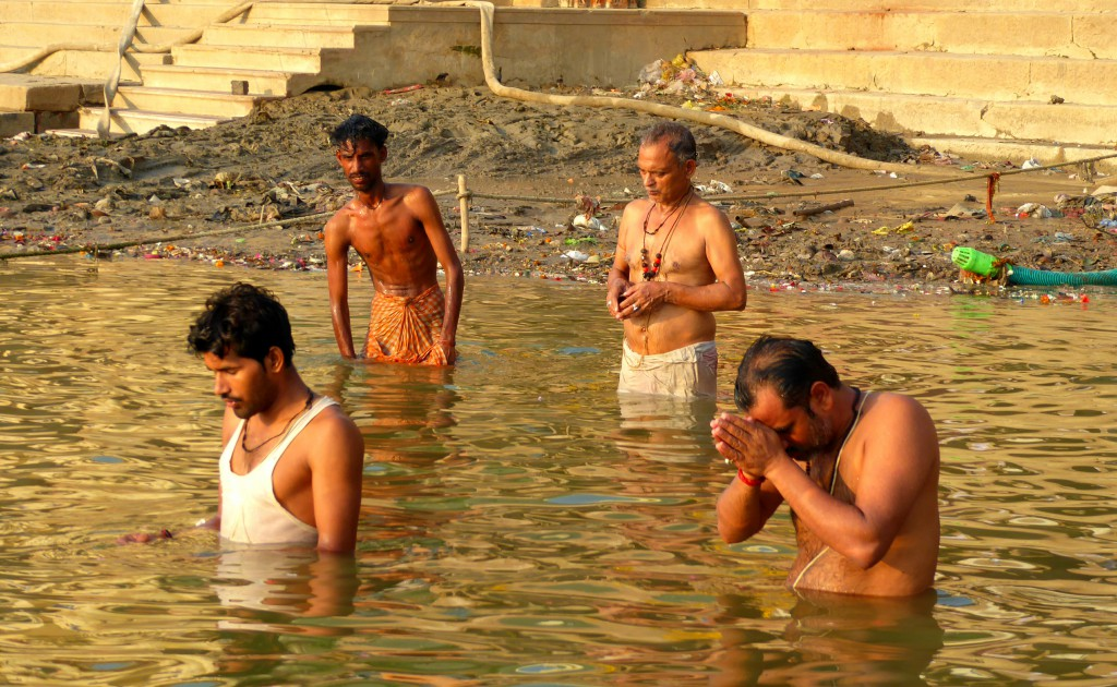 Morning ritual at Varanasi
