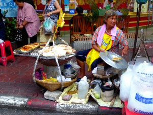 All in one streetfood stall