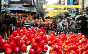 Street full of Food