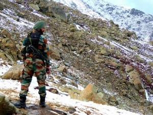 Sikh Army Man / Negatief Reisadvies