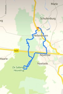Mountainbike map