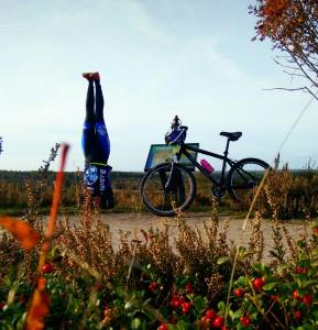 Mountainbiking Yoga