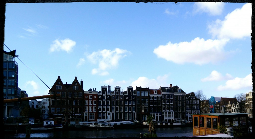 Row of houses, Amsterdam