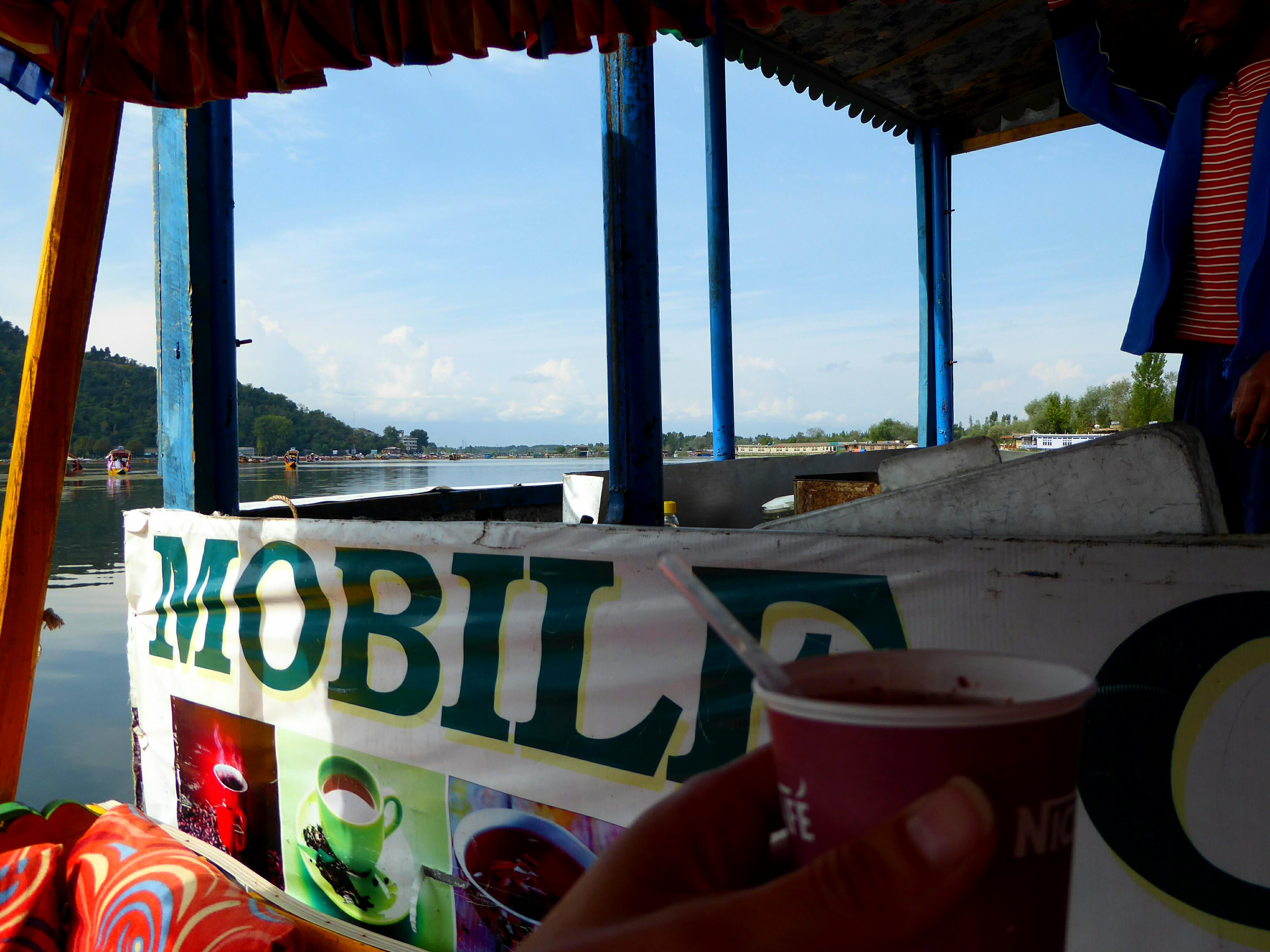 Mobiel Cafe Dal Lake, Srinagar