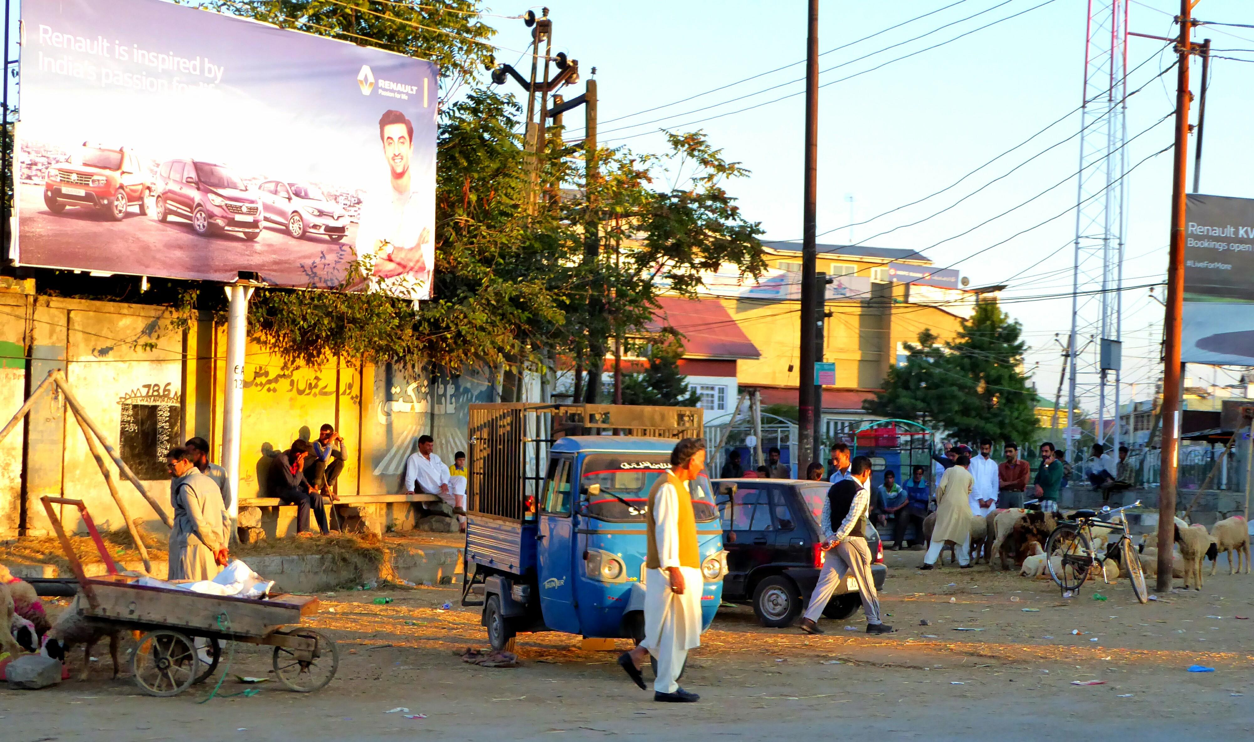 Oude Stad Srinagar