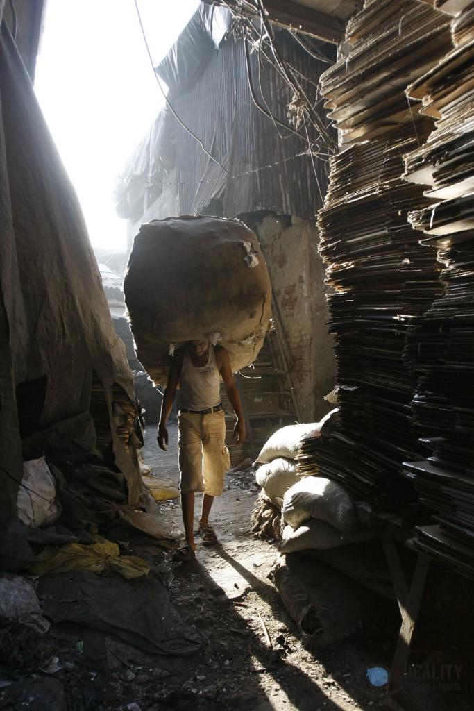 Dharavi Slum - Mumbai India