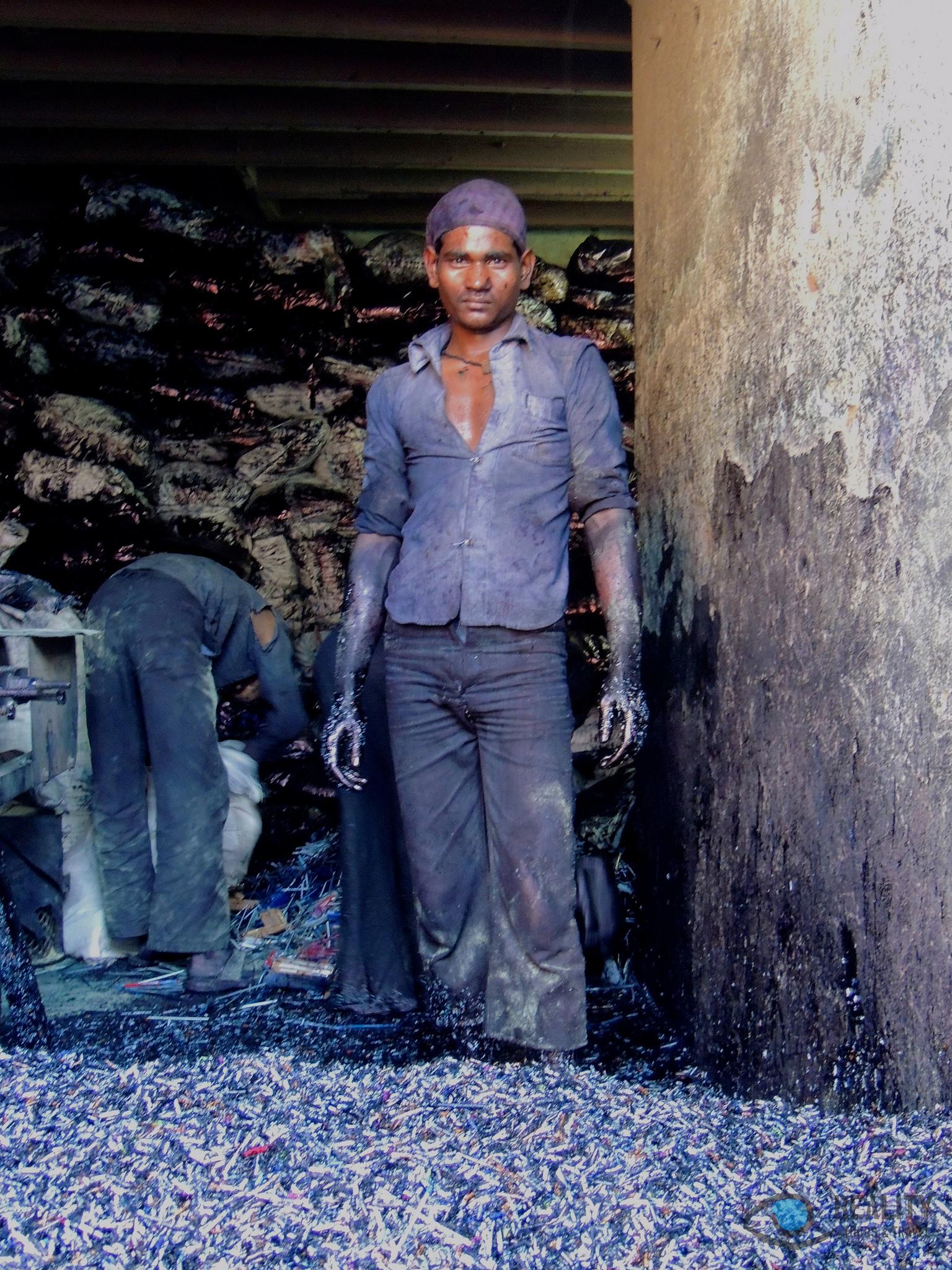 Dharavi slum, Mumbai India