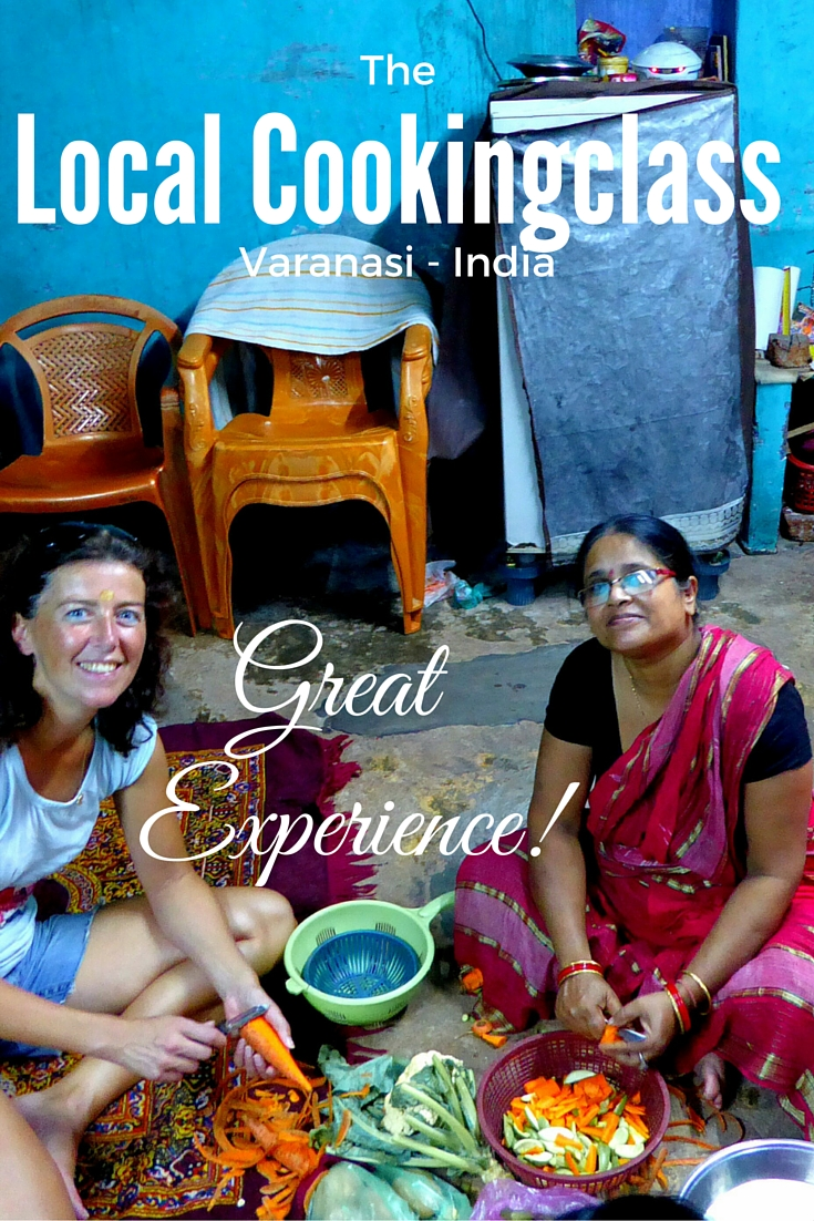 Local Cookingclass, Varanasi