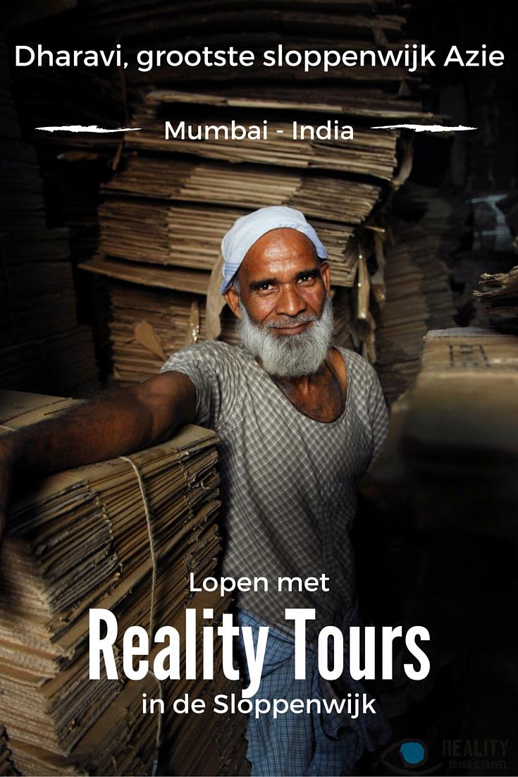 Dharavi, grootste sloppenwijk Azie. Toen ik in Mumbai was moest ik het zelf zien en voelen en dus boekte ik een wandeling in de sloppenwijk Dharavi met Reality Tours
