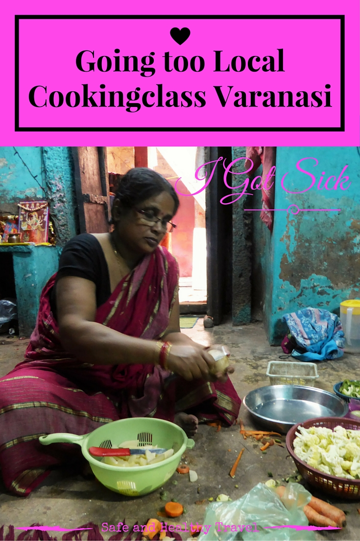 Going too LocalCookingclass Varanasi