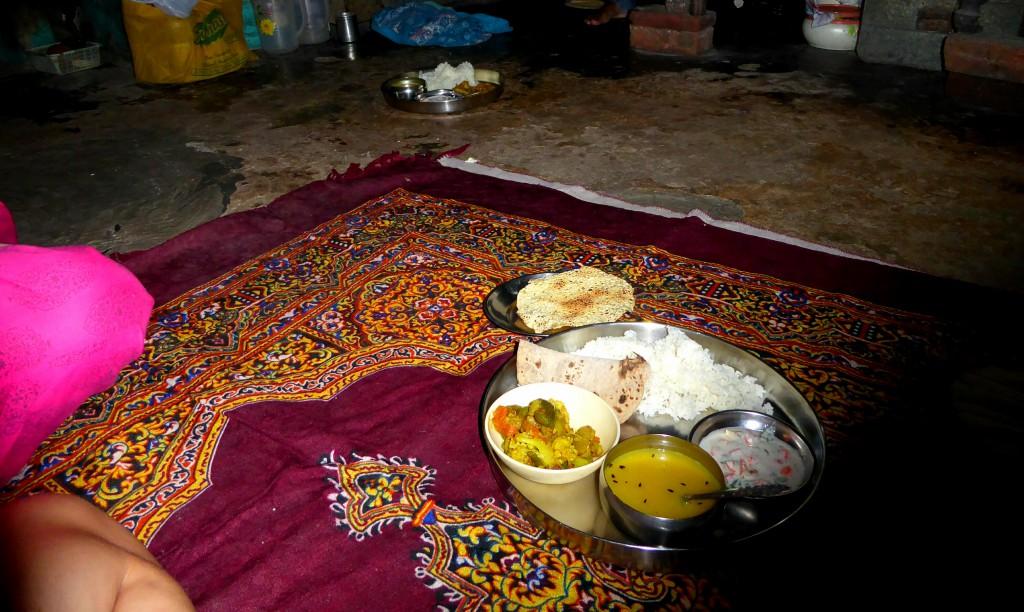 Thali - Cookingclass, Varanasi