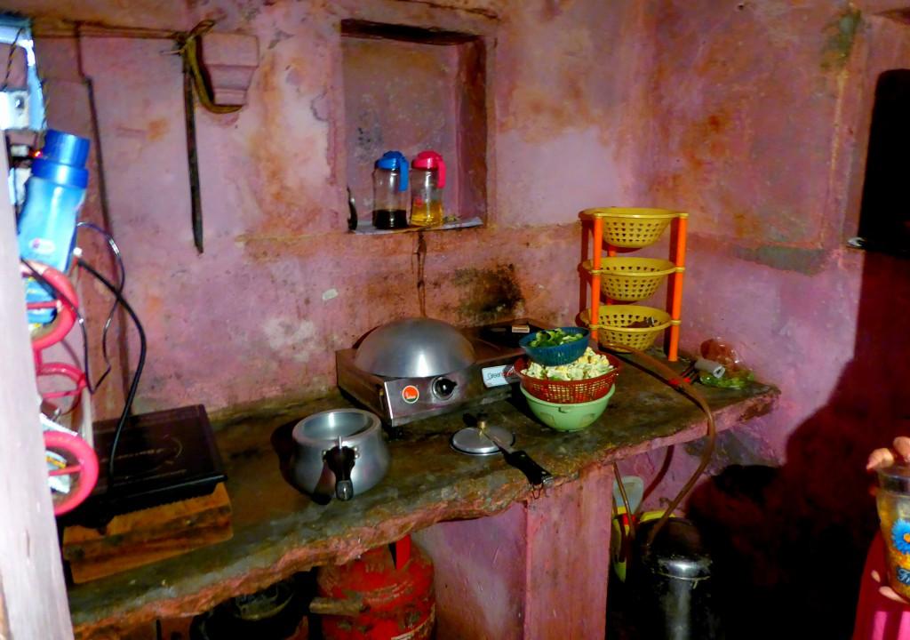 De kleine keuken, Lokale Kookles - Varanasi