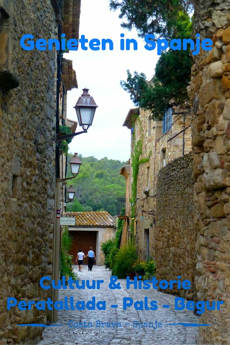 Genieten van het mooie Catalonie in de omgeving van Estartit is een aanrader! Bezoek de plaatsen Peratallada - Pals - Begur eens!!