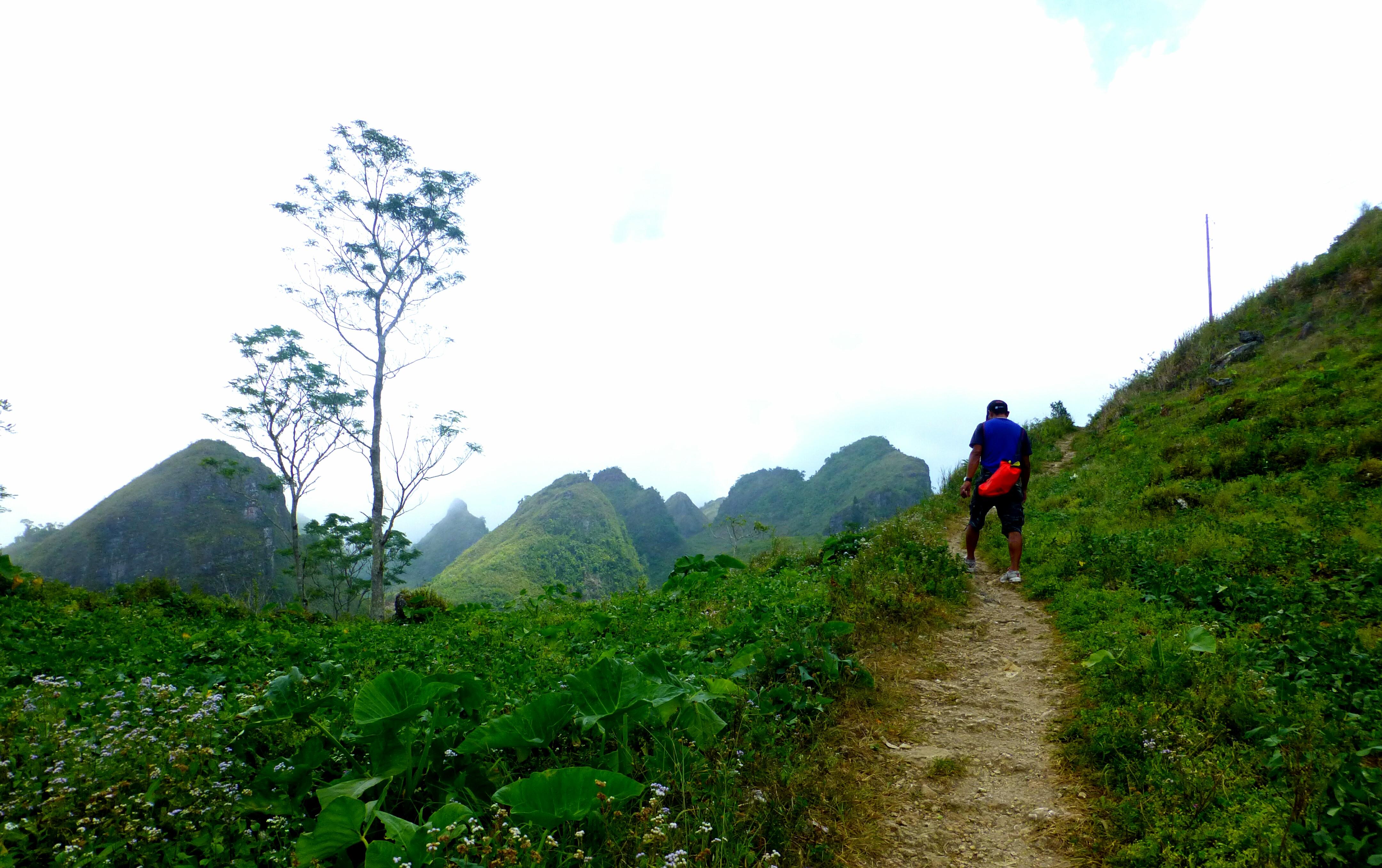 Walking Up Osmena Peak
