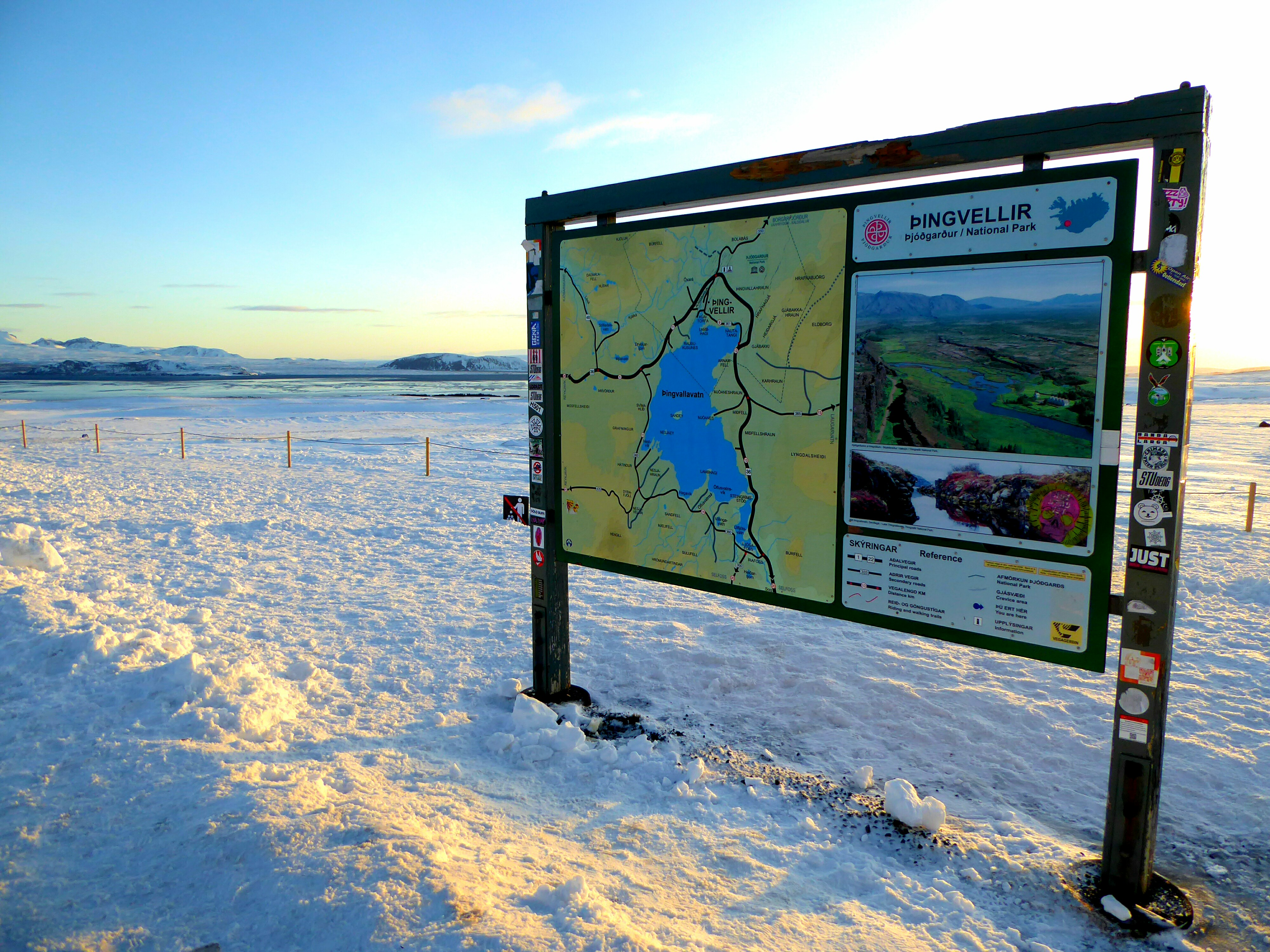 Thingvellir - IJsland