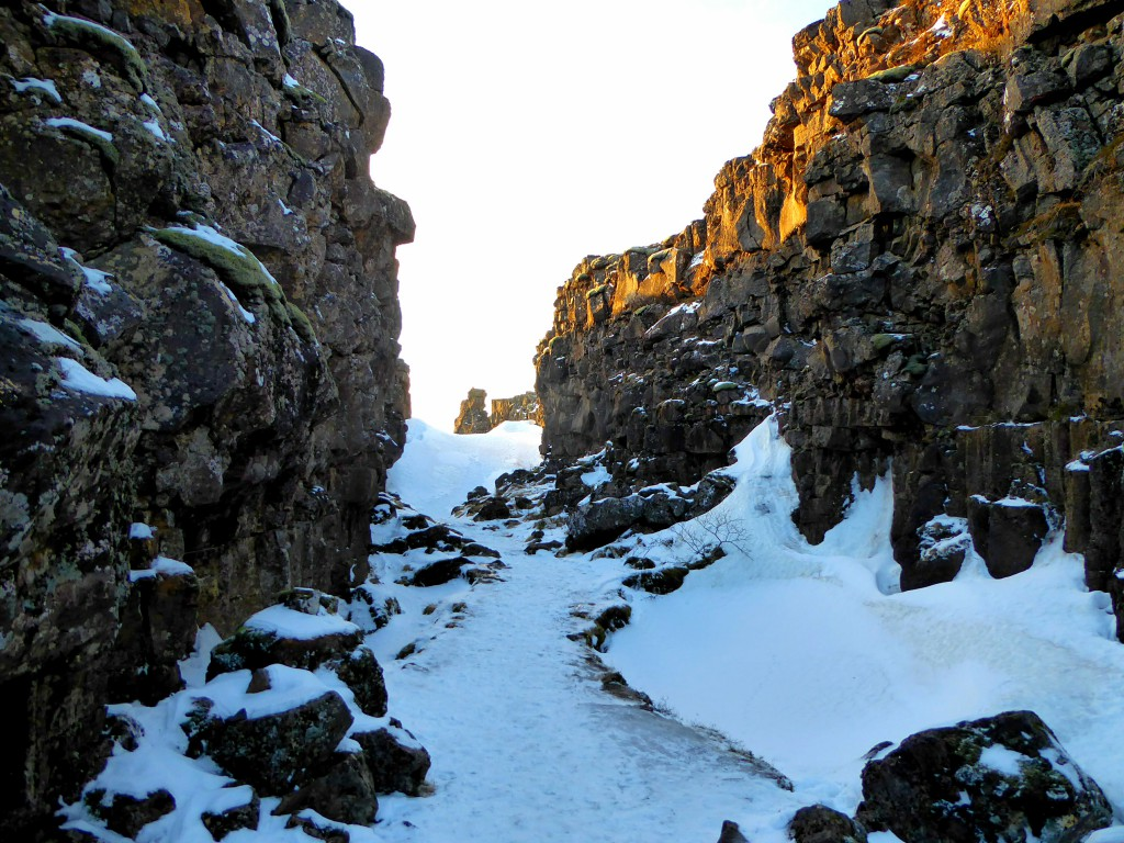 Thingvellir Nature Park - Iceland Canyon