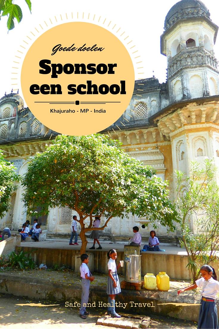 Goede doelen, scholen sponsoren