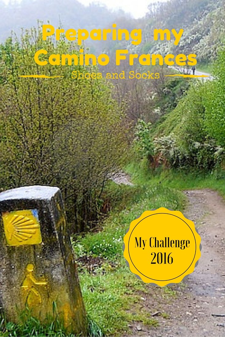 Preparing my Camino Frances.
