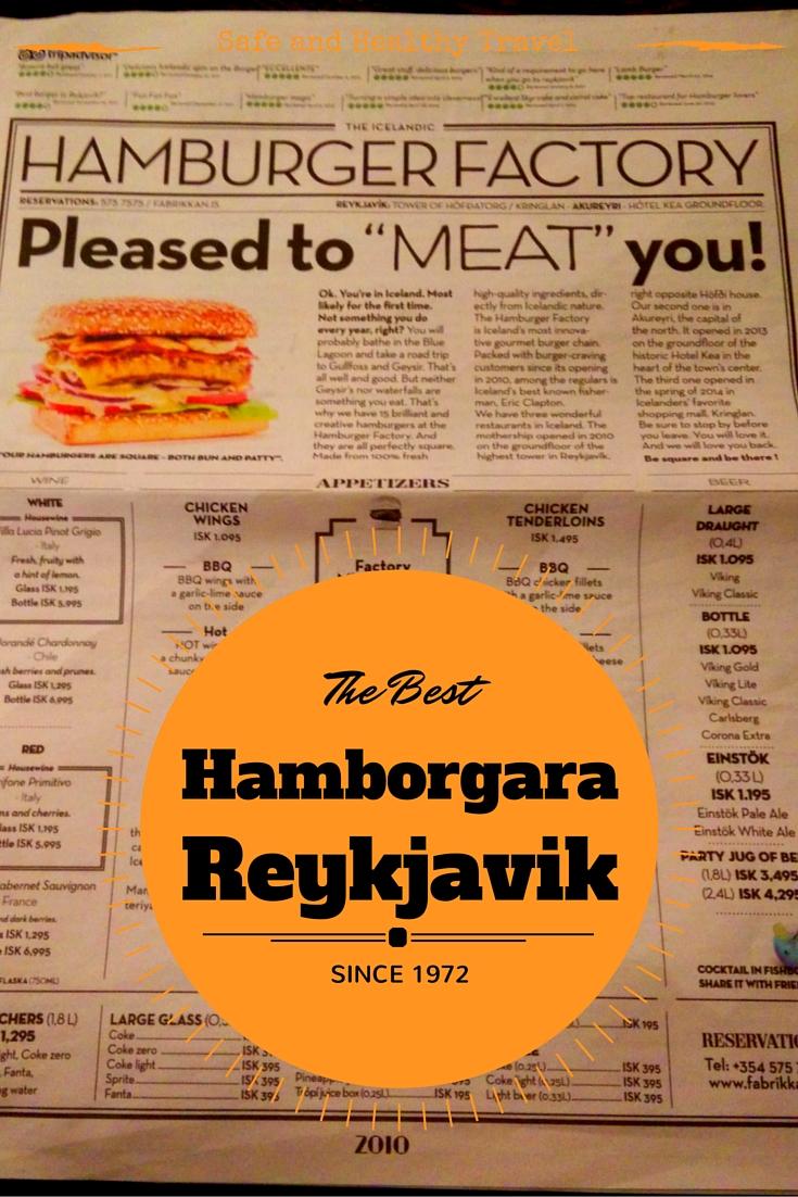 HamborgaraFabrikkan De Beste Hamburger